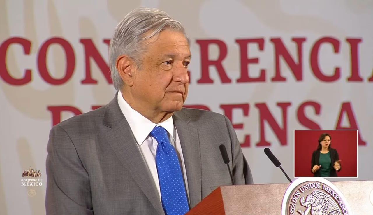 Presidente exhorta a partidos a donar la mitad de su presupuesto por COVID-19