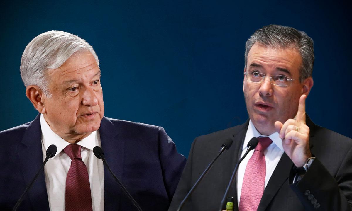 AMLO y Alejandro Díaz de León abordaron la complejidad actual de la economía