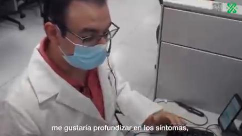 Gobierno de la Ciudad de México implementa Telemedicina para diagnosticar sintomatología de COVID-19