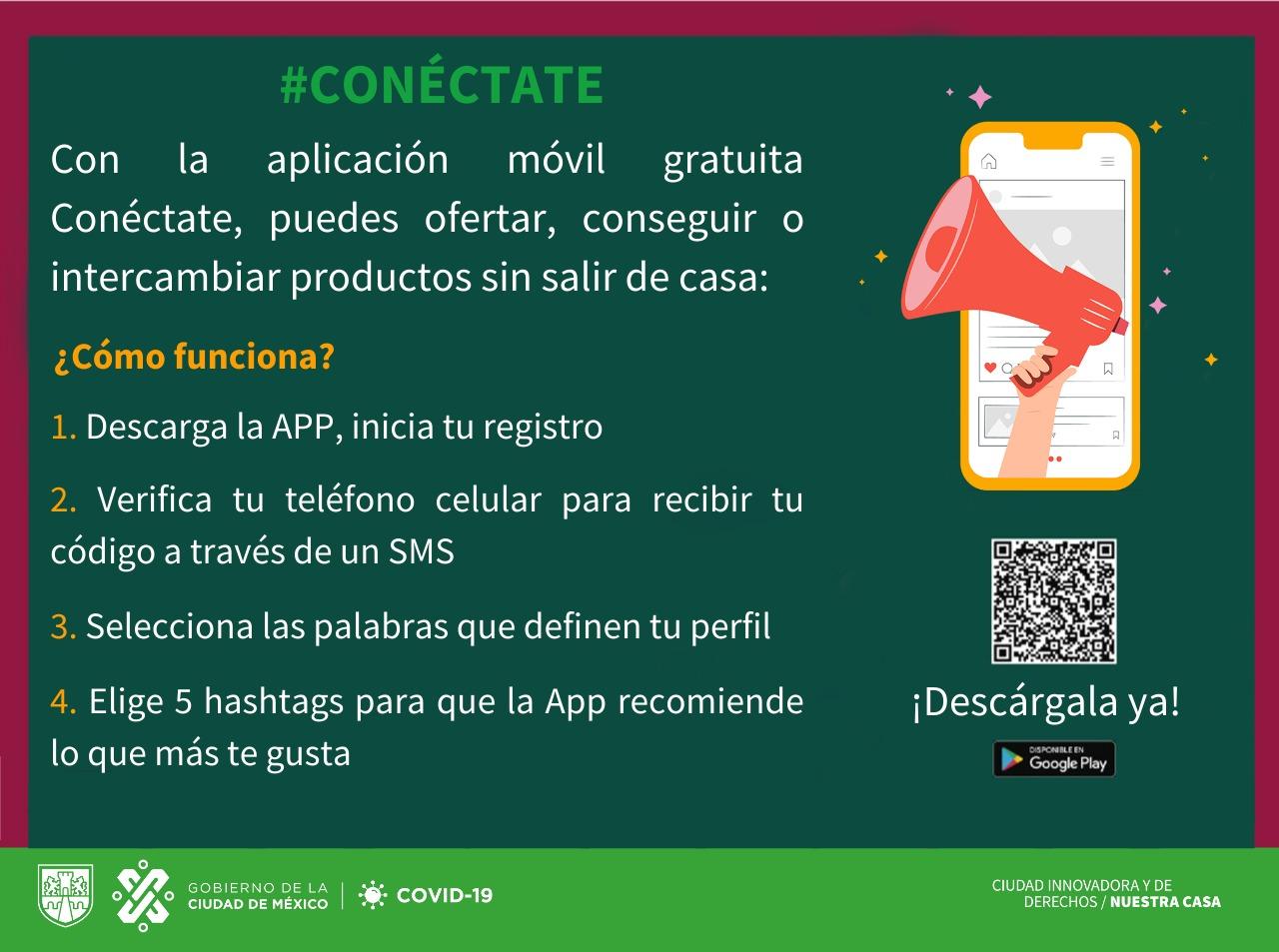 Presentan App gratuita para comercialización de productos y servicios