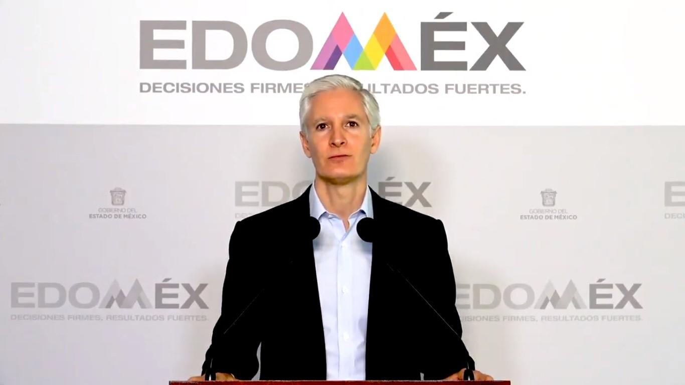 Alfredo Del Mazo anuncia avances ante las medidas por COVID-19