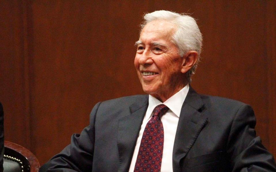 Fallece Ignacio Pichardo Pagaza, exgobernador del Estado de México