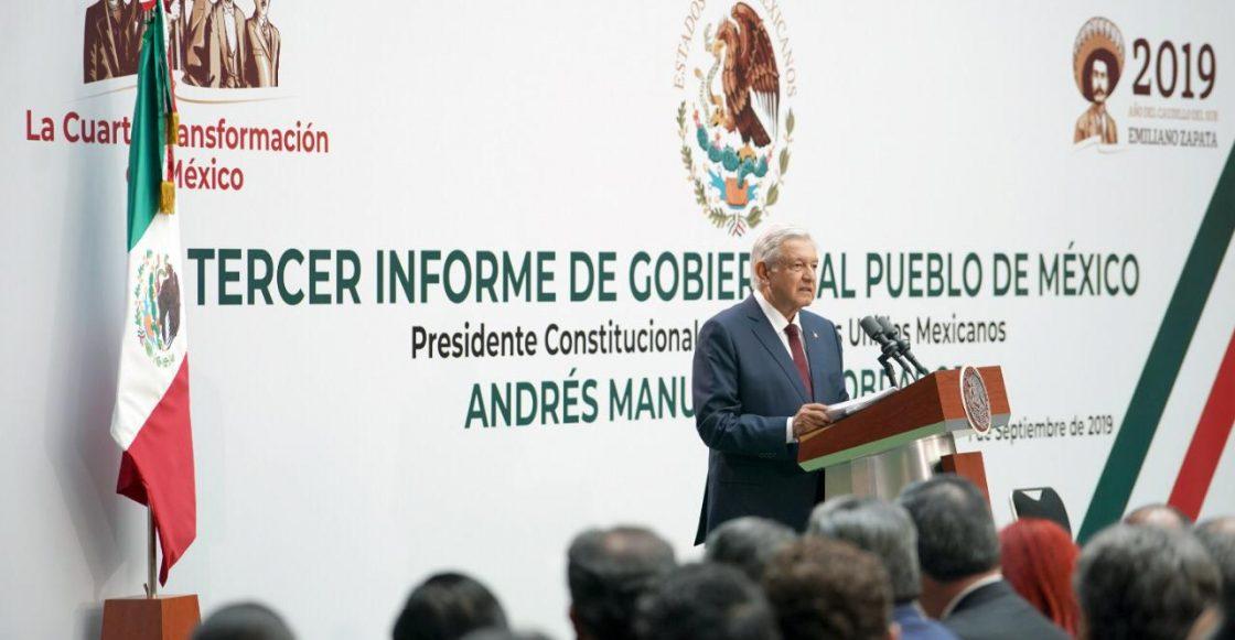 Andrés Manuel López Obrador dice que vamos por buen camino.