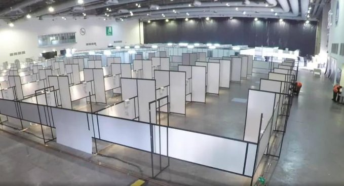 Iniciativa privada, UNAM y Gobierno de la CDMX habilitan Unidad Temporal Covid-19 en el Centro Citibanamex