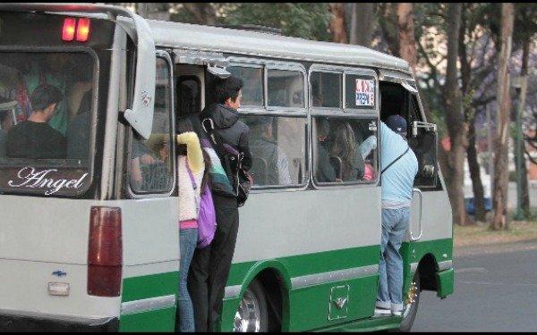 Se apoyará a transporte público con 4 y 6 mil pesos para combustible