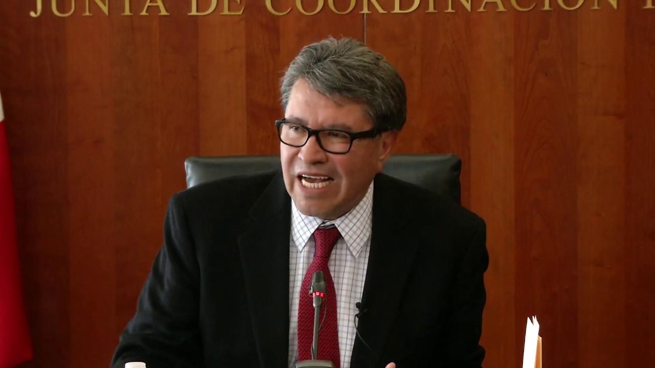 Ricardo Monreal convoca sesión para discutir Ley de Amnistía