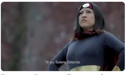 """Metepec hace video con """"Susana Distancia"""" y se vuelve viral"""