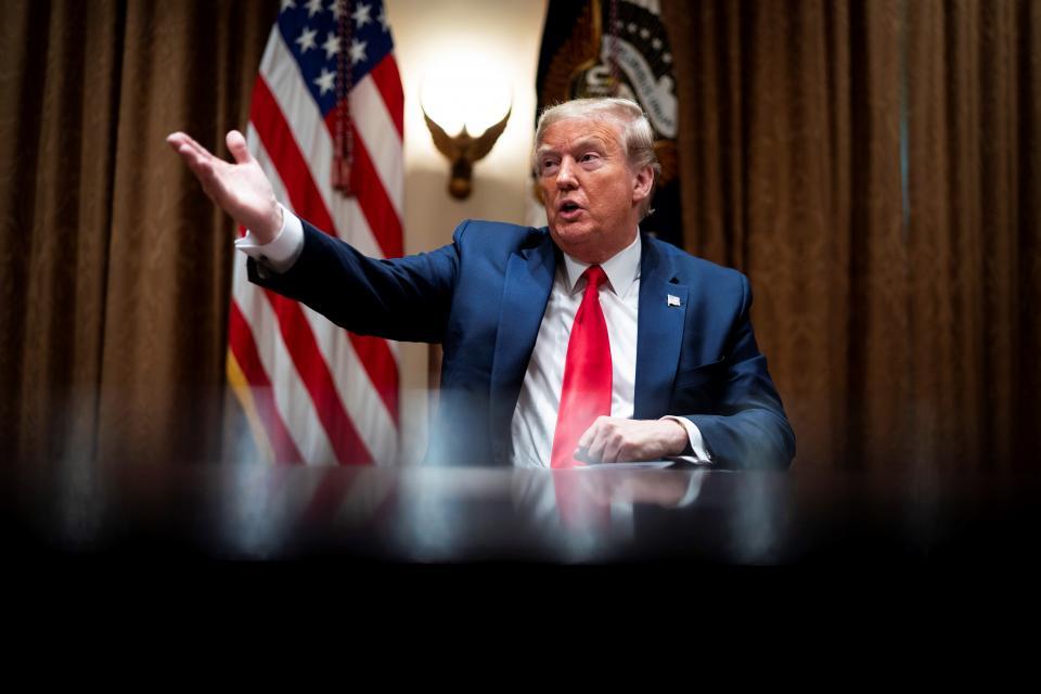 Trump suspende financiamiento de EUA a la OMS
