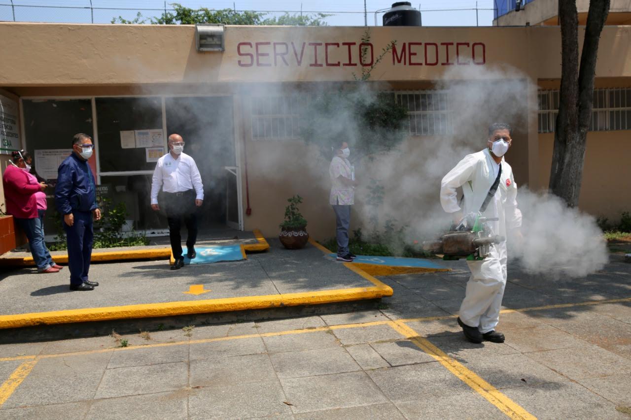 Casi al 100 por ciento sanitizados Centros Penitenciarios en la CDMX