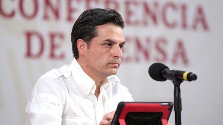 Zoé Robledo, director del IMSS, sufre accidente durante gira en Chiapas