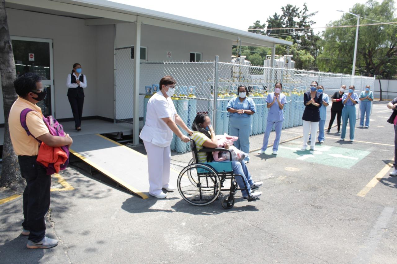 Irma, primer paciente positiva de COVID-19 dada de alta del Centro de  Atención Temporal Anexo HGZ 24