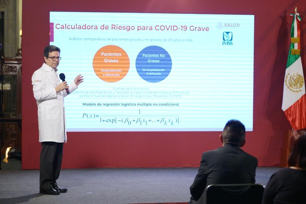 Diseña IMSS calculadora para evaluar nivel de gravedad a la salud en caso de padecer COVID-19