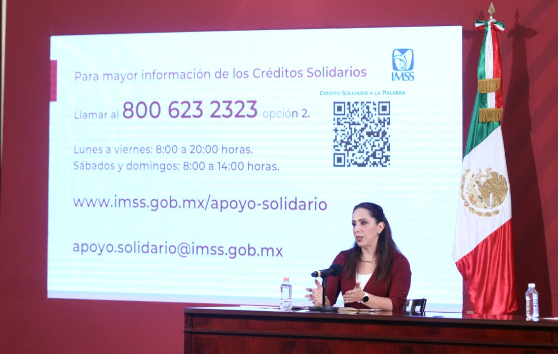 Suman dos mil 685 solicitudes aprobadas a personas trabajadoras del  hogar e independientes para un Crédito Solidario a la Palabra