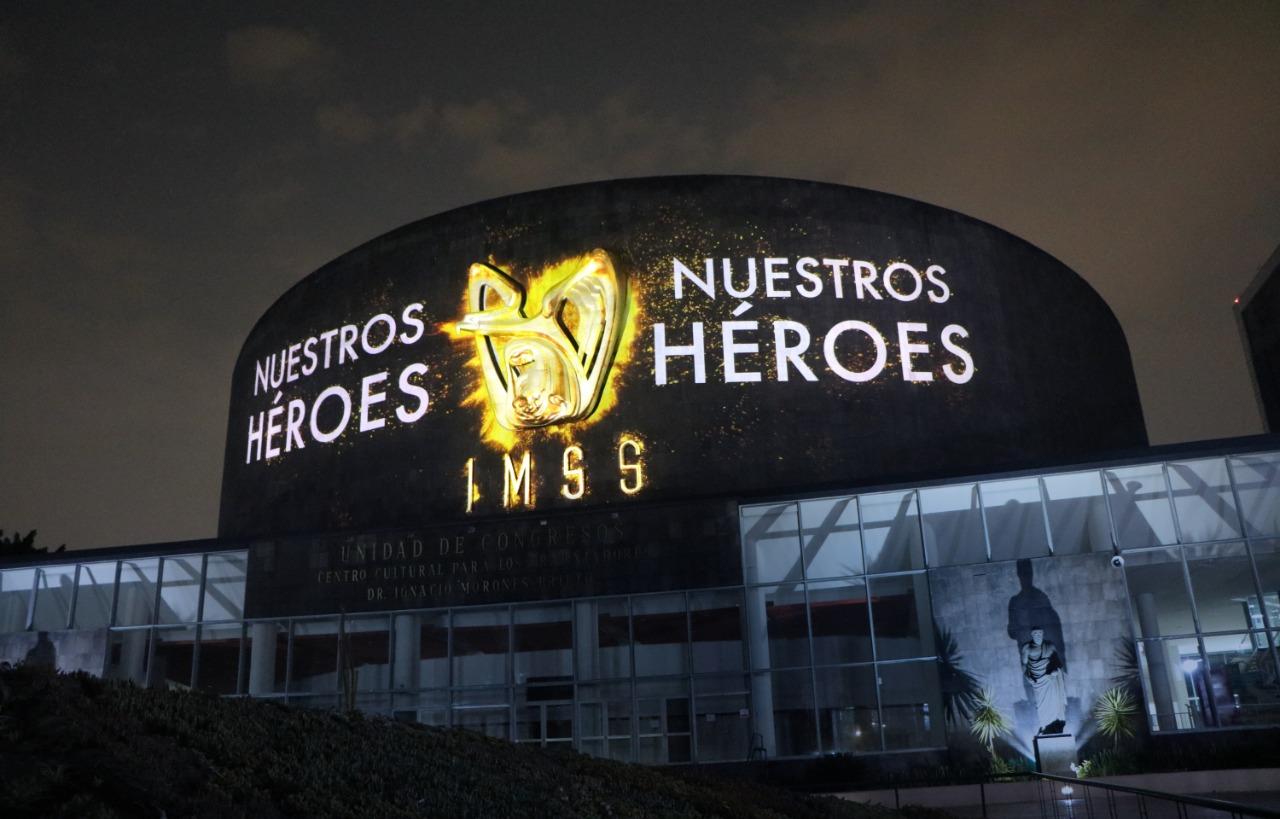 """Homenaje a personal médico que atiende pacientes de COVID-19, """"Mural a los Héroes de la Salud"""""""