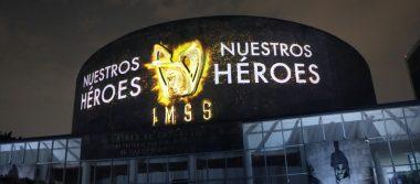 El Mural a los Héroes de la Salud, un homenaje al personal del IMSS que  lucha día a día contra el COVID-19