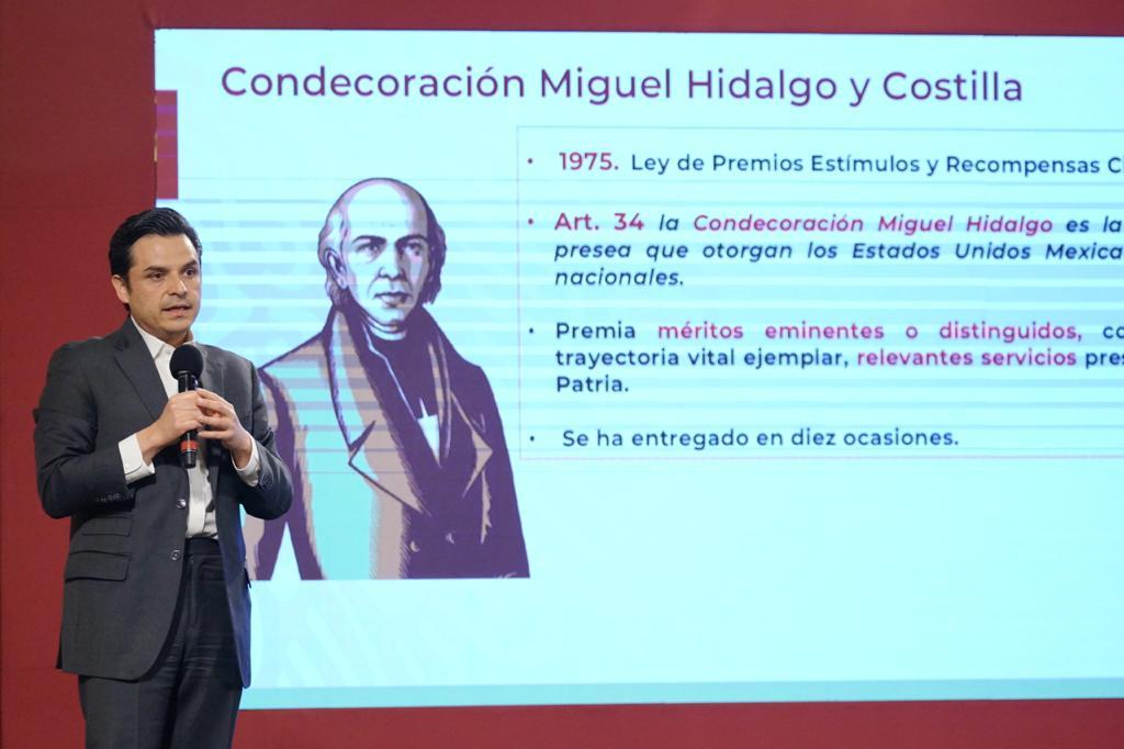 Propone gobierno federal otorgar condecoración Miguel Hidalgo a  trabajadores de la salud que atienden pacientes COVID-19