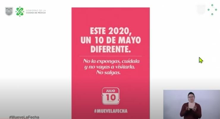 Jefa de Gobierno invita a festejar el Día de las Madres el 10 de Julio