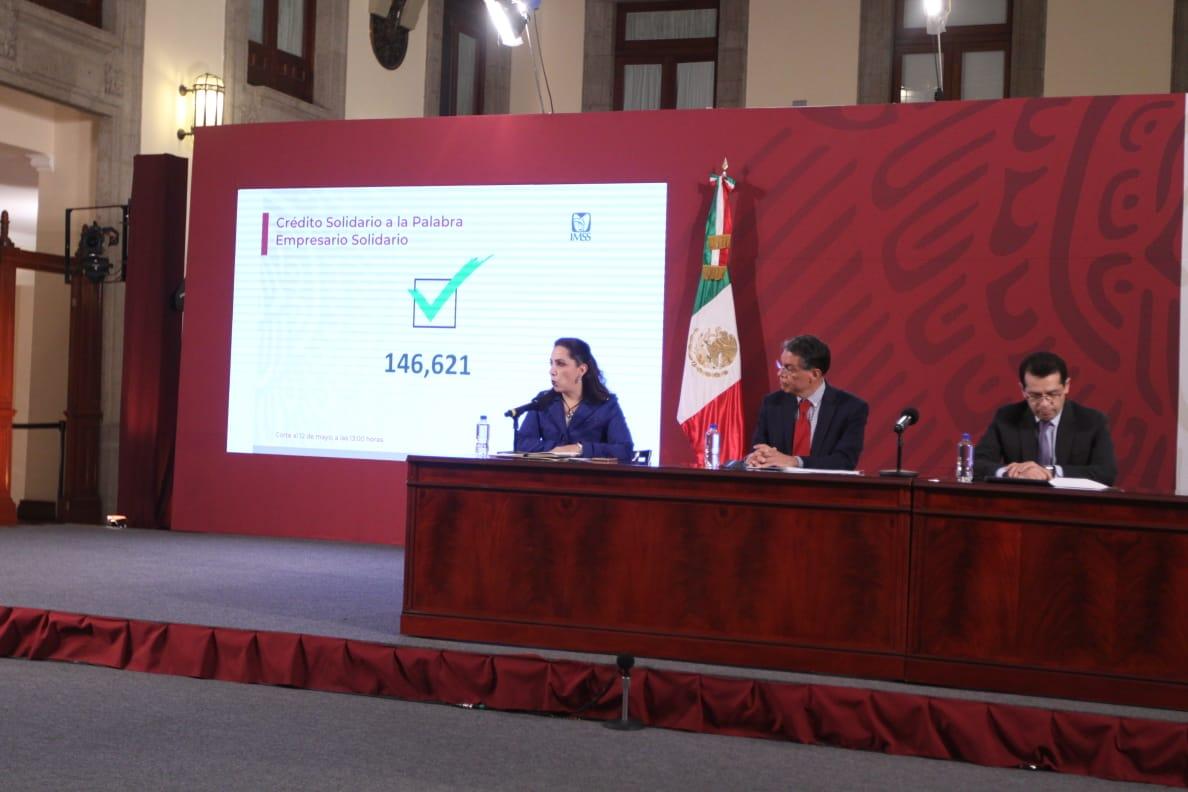 A partir de mañana 23 mil 717 trabajadores independientes podrán  solicitar un Crédito Solidario a la Palabra: IMSS