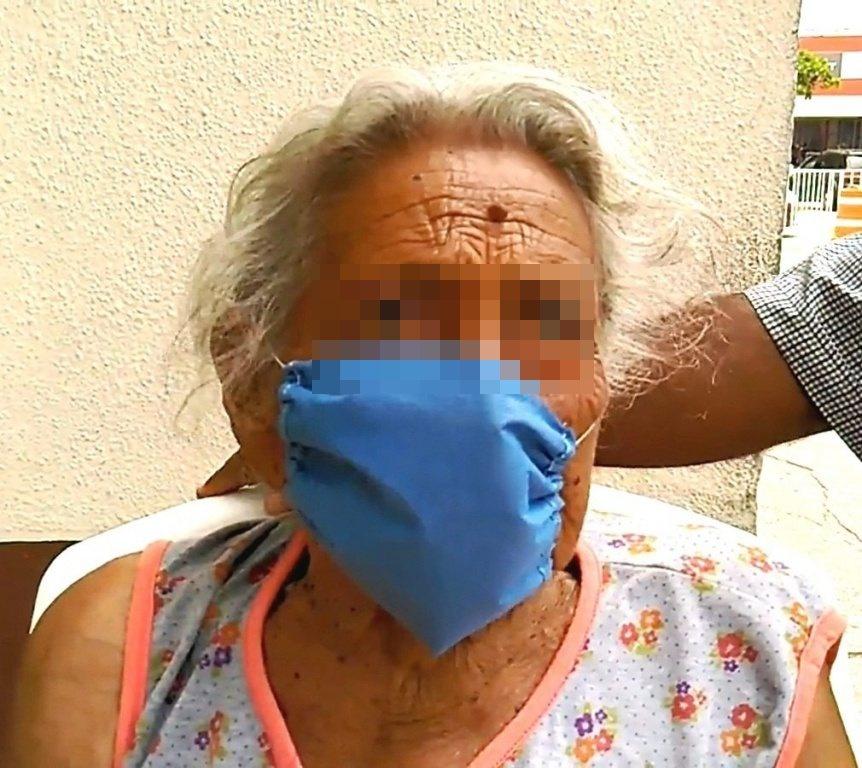 Mujer de 102 años de edad supera enfermedad respiratoria y egresa de hospital en Coatzacoalcos