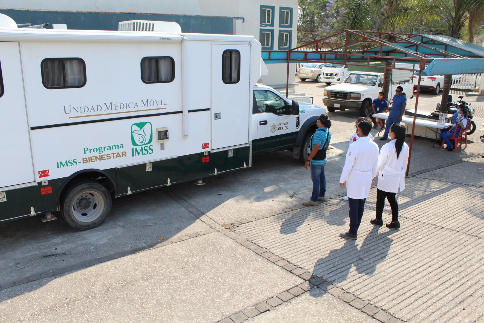 IMSS supervisa la ampliación de su capacidad para atender a pacientes COVID en el estado de Morelos
