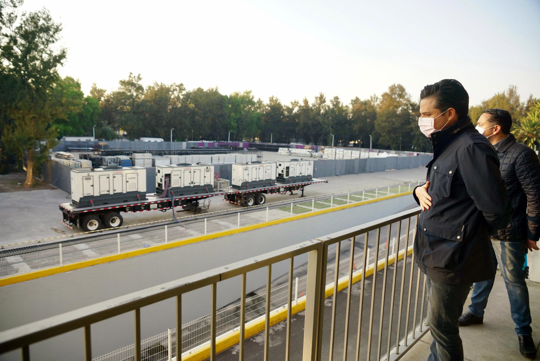 IMSS habilita Autódromo Hermanos Rodríguez como hospital de expansión COVID-19