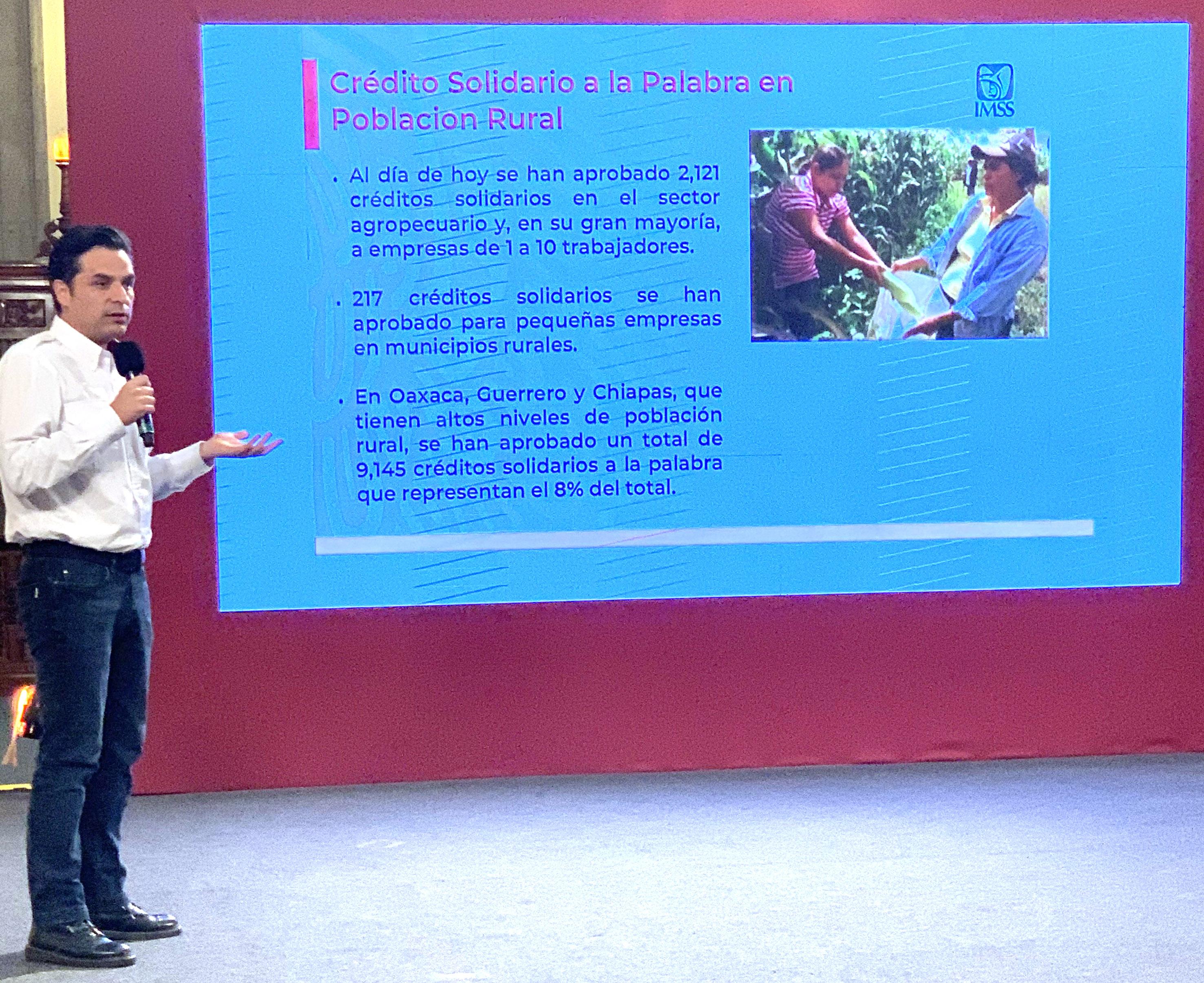 115 mil 104  empresarios solidarios recibirán un préstamo por 25 mil pesos