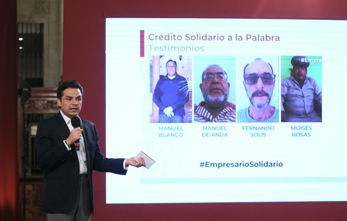Se han entregado más de 90 mil créditos solidarios a pequeños  empresarios: IMSS