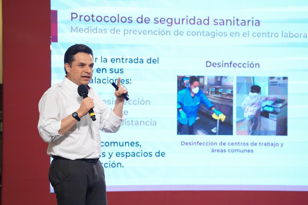 Presenta IMSS protocolo de seguridad sanitaria que deberán aplicar las empresas para la Nueva Normalidad