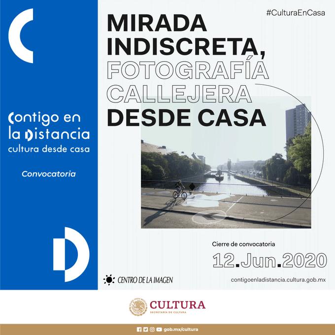 Centro de la Imagen abre la convocatoria para el concurso Mirada Indiscreta