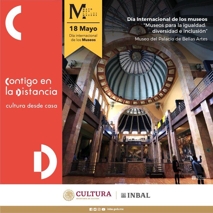 Museos de todo el país, celebran virtualmente el Día Internacional de Los Museos