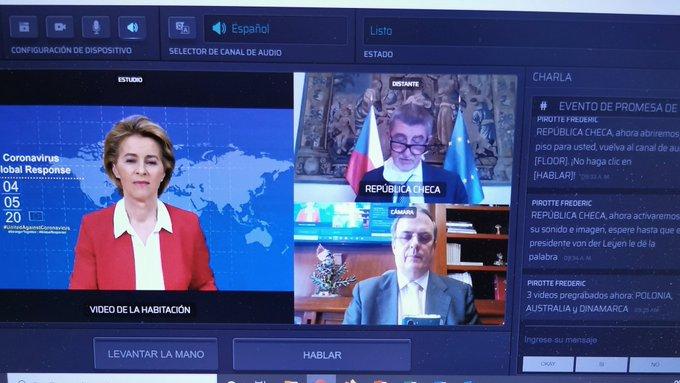 México participa en la Cumbre de Respuesta Global al Coronavirus