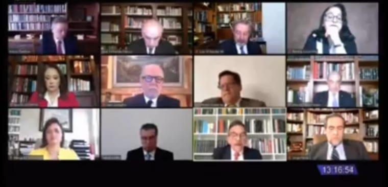 En sesión virtual, Suprema Corte echa abajo Ley Bonilla