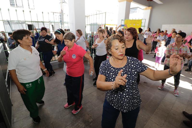 Capital Cultural en Nuestra Casa invita a ejercitarse con el programa Ponte Pila