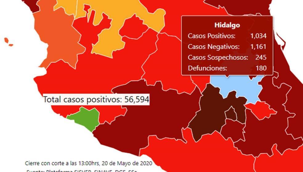Hidalgo supera los mil casos de COVID-19: Omar Fayad