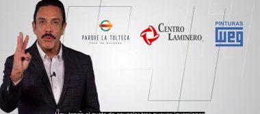Llegada de 3 nuevas inversiones a Hidalgo generará 2 mil 300 nuevos empleos: Omar Fayad.