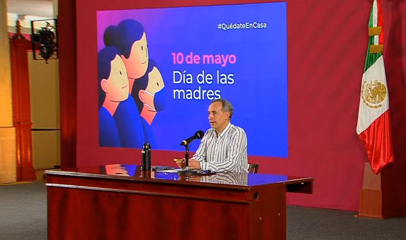 México registra 3 mil 465 defunciones por COVID-19, 35 mil casos confirmados: SSA