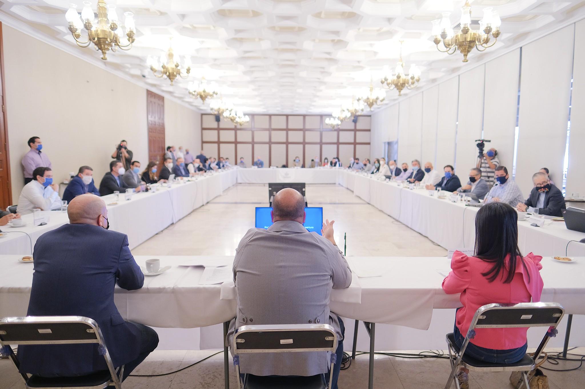 Presentan Plan para la reactivación económica en la entidad, ante emergencia por Coronavirus