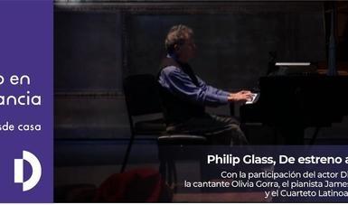 Transmitirán concierto que Philip Glass ofreció en Bellas Artes