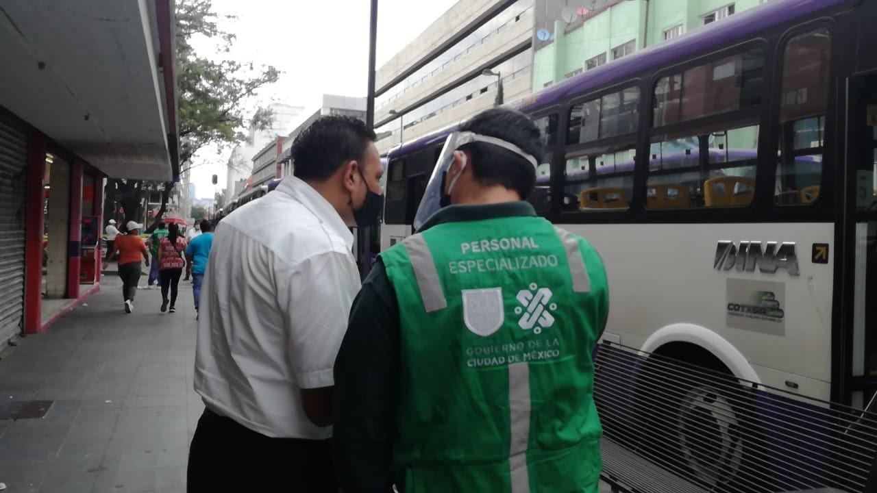 """Llaman a operadores de transporte público a respetar las medidas de """"Susana Distancia"""""""