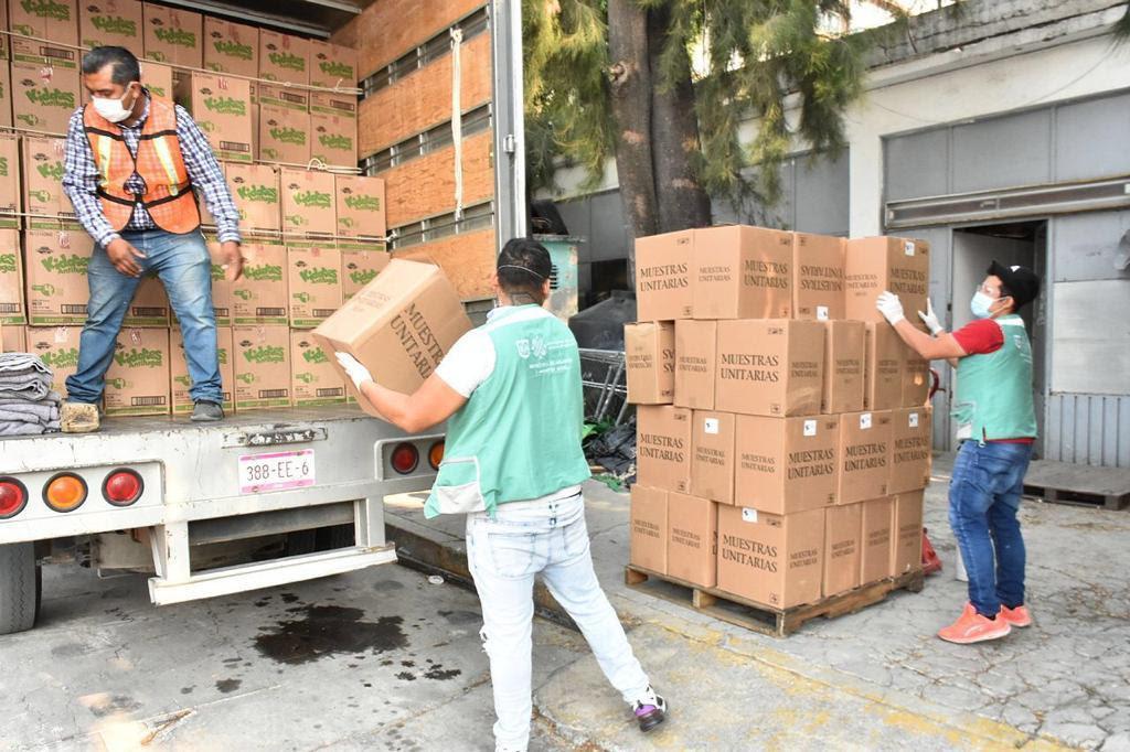 Empresas y Embajada de Bélgica donan 50 mil pañales a CAIS en la Ciudad de México