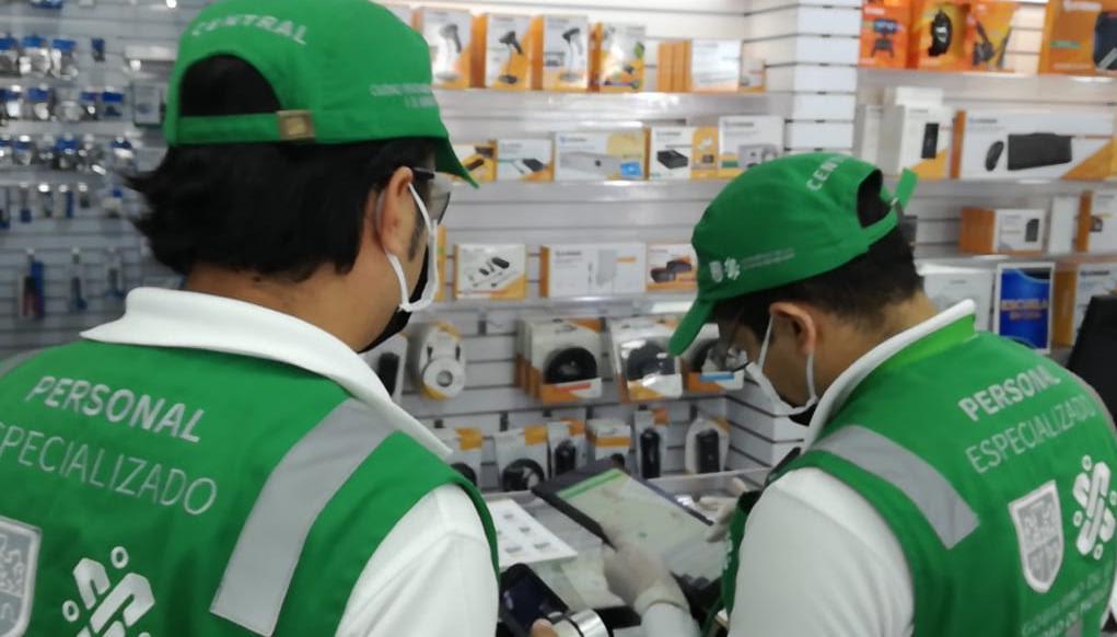 Personal del INVEA continúa con la supervisión a establecimientos mercantiles