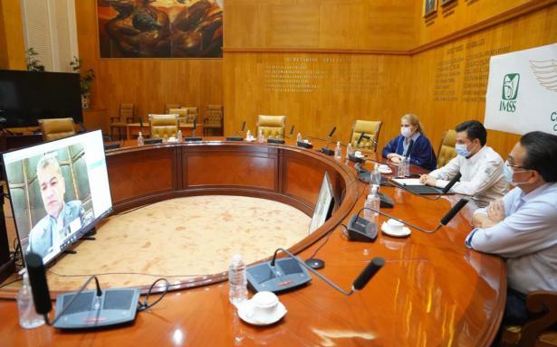 IMSS y Gobierno de Coahuila suscriben convenio para brindar hospitalización a no derechohabiente con COVID-19