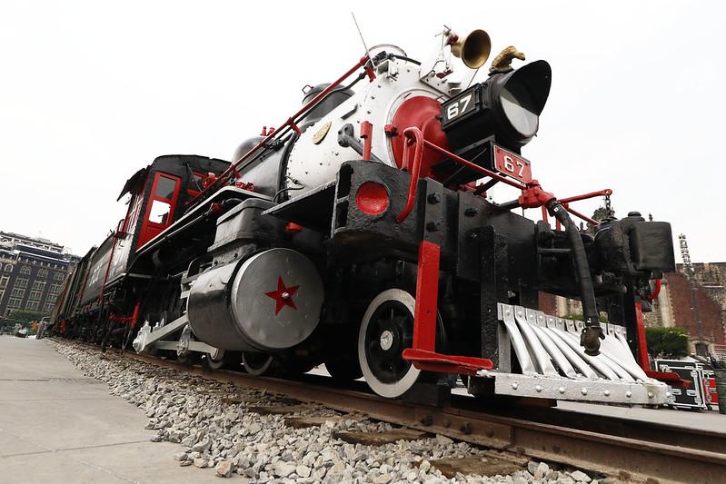 Museo de los Ferrocarrileros difunde en línea la historia del tren en México