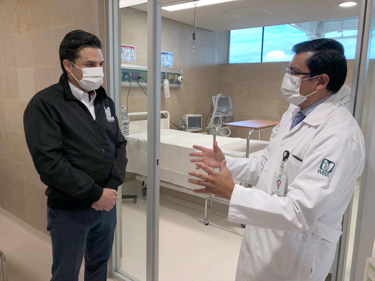 Entra en operación Hospital en Atlacomulco para atender a pacientes con COVID-19
