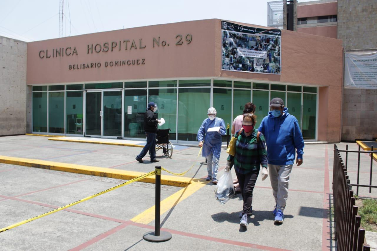 Suman ya 395 pacientes positivos de COVID-19 dados de alta del Hospital General No. 29 de la Ciudad de México