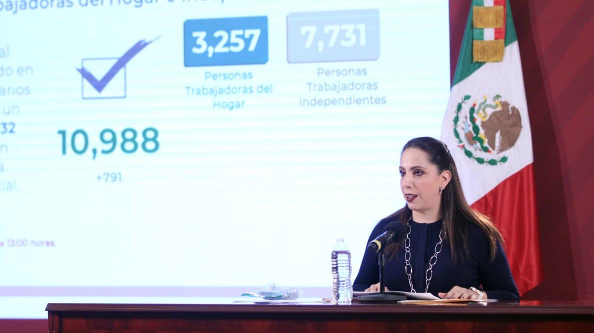 Apoyos Solidarios a la Palabra permitieron a miles de empresas mantenersu plantilla laboral: IMSS