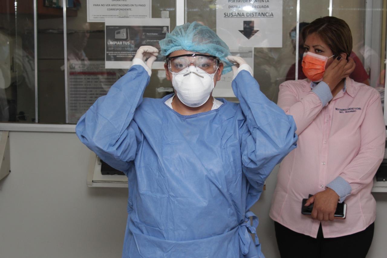 Para prevenir contagios por COVID-19 cubrebocas debe cubrir nariz y  boca, señalan epidemiólogos