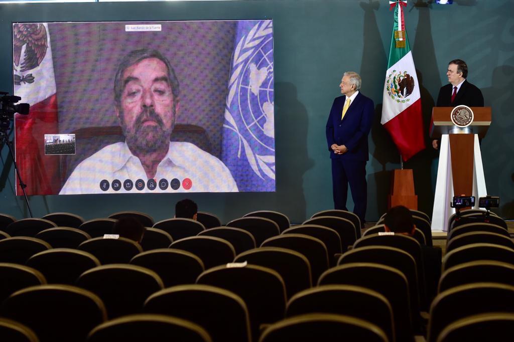 México recibe respaldo histórico para ser miembro no permanente del Consejo de Seguridad de la ONU