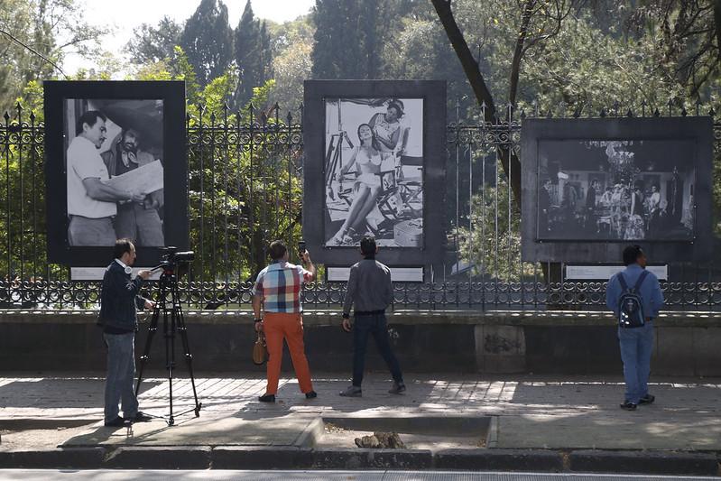 """Galerías Abiertas ofrece """"detrás de cámaras"""" del cine mexicano de manera visual"""