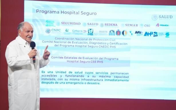 Programa Hospital Seguro en el IMSS permitió operatividad de hospitales durante y después del sismo